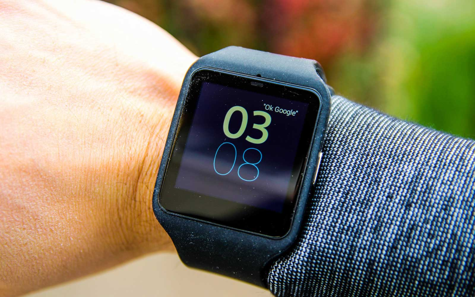 Hands-on with Sony rugged android wear watch