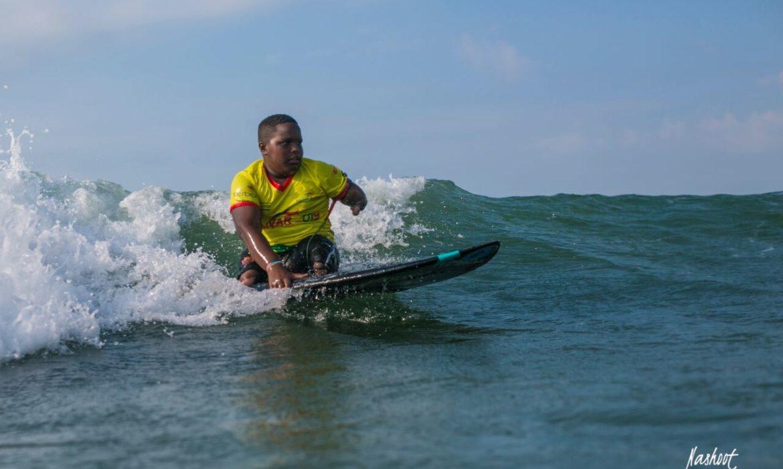 Fredy Marimón, entre las olas de la valentía y el triunfo
