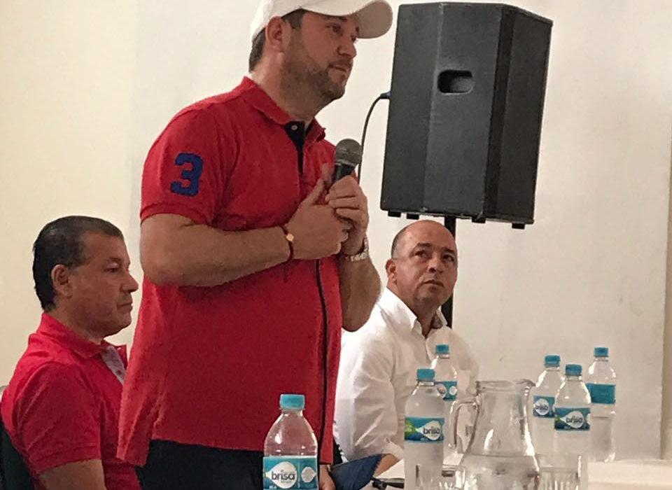 Senador Lidio García elegido presidente Directorio Departamental Liberal