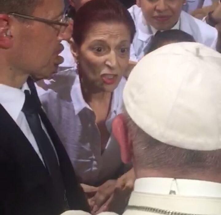 Lo que no se vio en la visita del papa: Emilia Fadul dice ser perseguida por la justicia