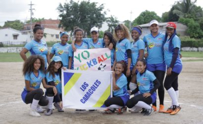 Los Caracoles se coronaron campeones de Kickball sub-18 en Torneo de Integración Comunitaria