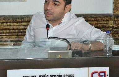 Diputado Berrio denuncia supuesta irregularidad en nombramiento de notaria de Rioviejo
