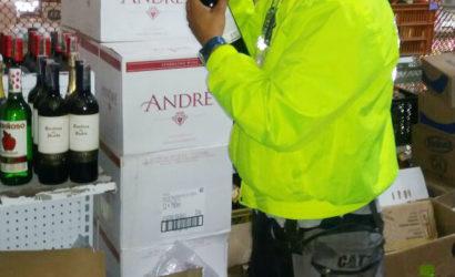 Más de 7 mil botellas de licor de contrabando han sido incautadas
