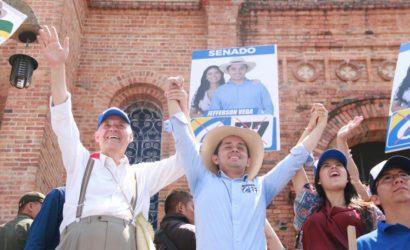 Jefferson Vega es respaldado por Ordóñez
