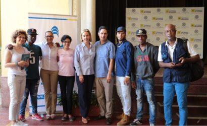 Cámara de Comercio de Cartagena, en alianza con ACDI VOCA y USAID, unidos por los jóvenes gestores de paz