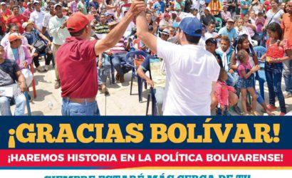 Histórica votación de Yamilito Arana a la Cámara: Fenómeno político en Bolívar