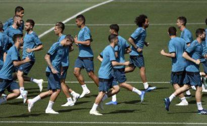 Real Madrid se encuentra en Kiev a la espera de la final de la Champions