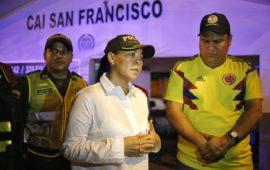 """""""No descansaremos hasta que los cartageneros estén tranquilos"""": Yolanda Wong, Alcaldesa (e)"""