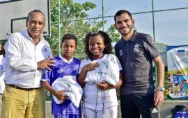 Se inicia segunda fase de las escuelas sociodeportivas Real Madrid en Cartagena