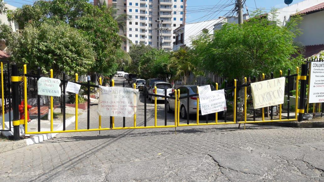 Comunidad del barrio Contadora gana el primer round contra Alcalde de la localidad 2 de Cartagena