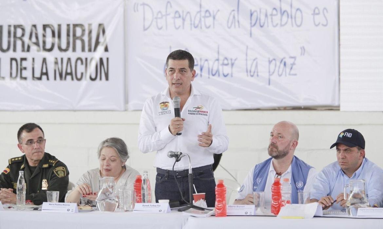 Autoridades nacionales ratifican apoyo y protección total a líderes sociales