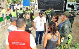 Secretaria del Interior y Policía de Cartagena realizan campaña Comando Situacional