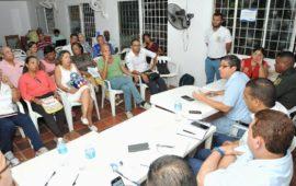 Barrio Los Calamares muestra las necesidades que tienen en Consejo Comunitario de Seguridad