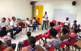 El PES -PR, de lleno en las comunidades