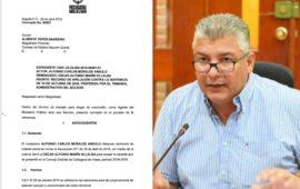 Procuraduría solicita confirmar la sentencia que declara nulo el posicionamiento de Óscar Marín