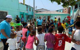 IDER lleva Deporte y Recreación a Santa Cruz de Islote