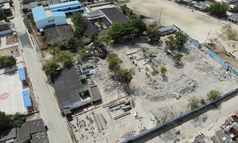 Terminó etapa de demolición de vieja estructura del San Felipe Neri