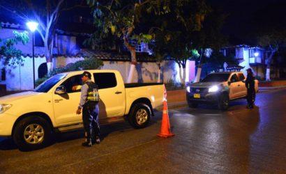 Sancionadas 6 personas por conducir en estado de alicoramiento durante el fin de semana