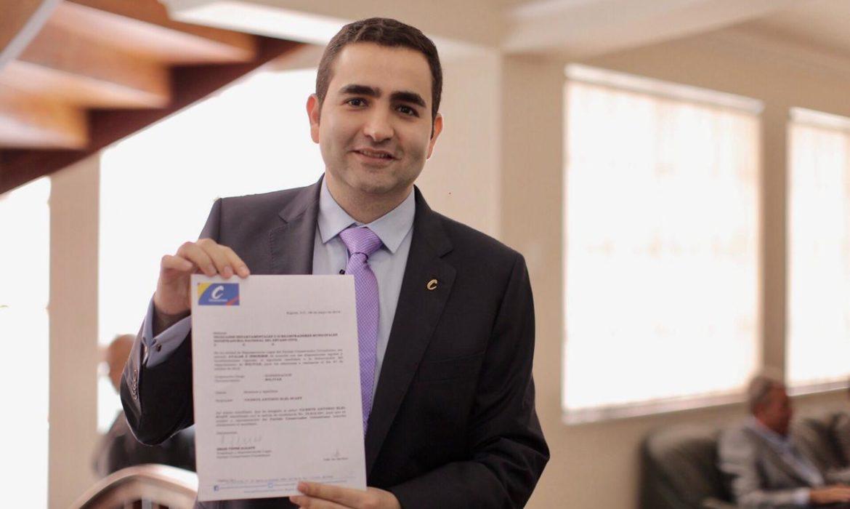 Vicente Blel Scaff es candidato a la Gobernación de Bolívar por el Partido Conservador