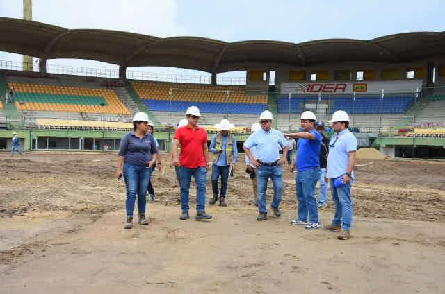 """""""Obras en escenarios deportivos van a buen ritmo"""": Alcalde"""