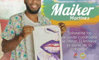 """""""El arte es mi escudo"""": Maiker Martínez"""