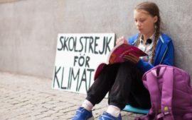 Greta Thunberg, Personaje de la Semana