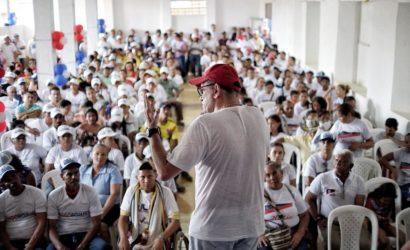 Nando Padauí sigue consolidando respaldos en toda Bolívar