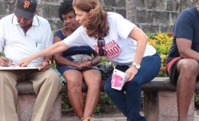 Claudia Fadul: una experimentada dirigente que quiere gobernar con transparencia a Cartagena