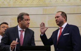 Lidio García invitó a defender un solo partido llamado Colombia en su discurso como nuevo presidente del Senado