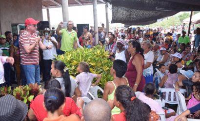 Nando Padauí llegó a El Carmen de Bolívar y Zambrano con sus propuestas sociales