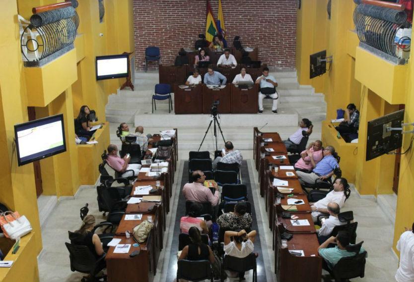 Concejo suspendió audiencia  Por falta de fluido eléctrico