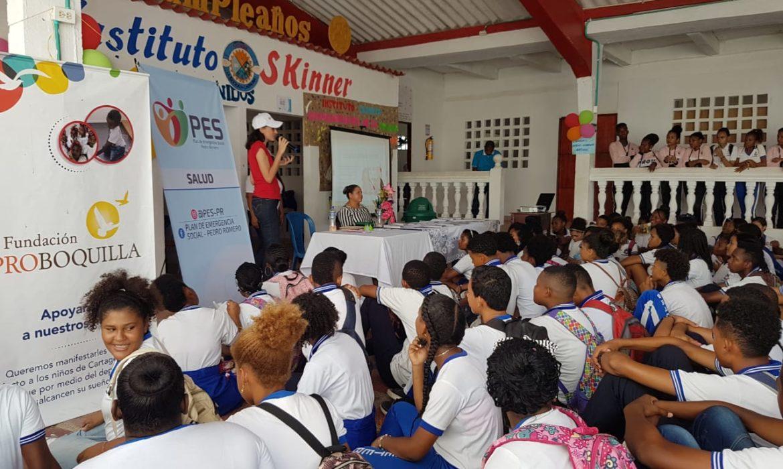 El PES Llegó a La Boquilla con Feria de Salud Sexual