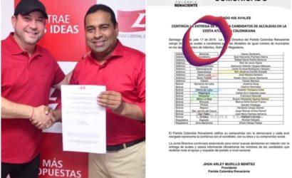 Denuncian doble militancia de candidato a la alcaldía de Magangué