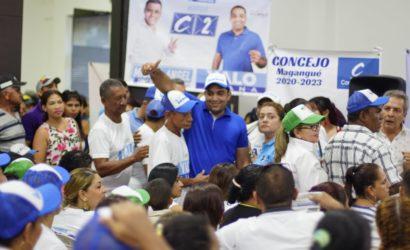 """Yalo firma pacto anticorrupción por una """"Magangué transparente"""""""