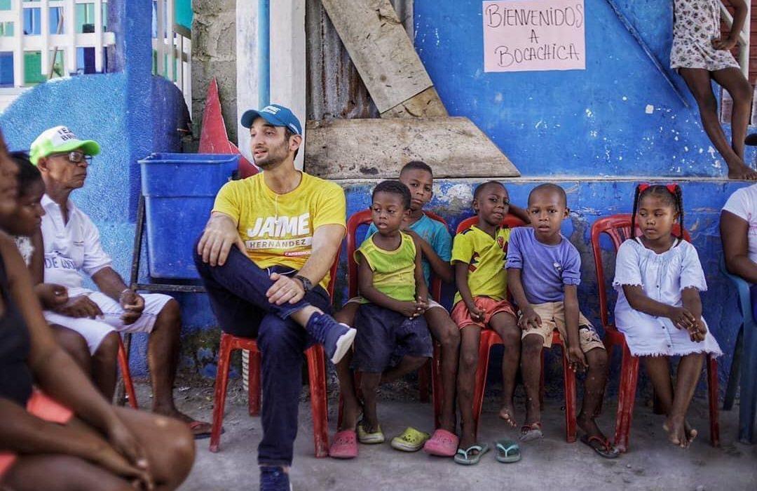 Jaime Hernandez Amin quiere ser el alcalde de la educación en Cartagena