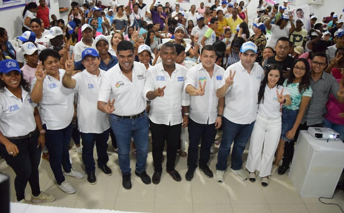 El Movimiento Ciudadanos Activos presentó los canditados que respaldará en la contienda electoral