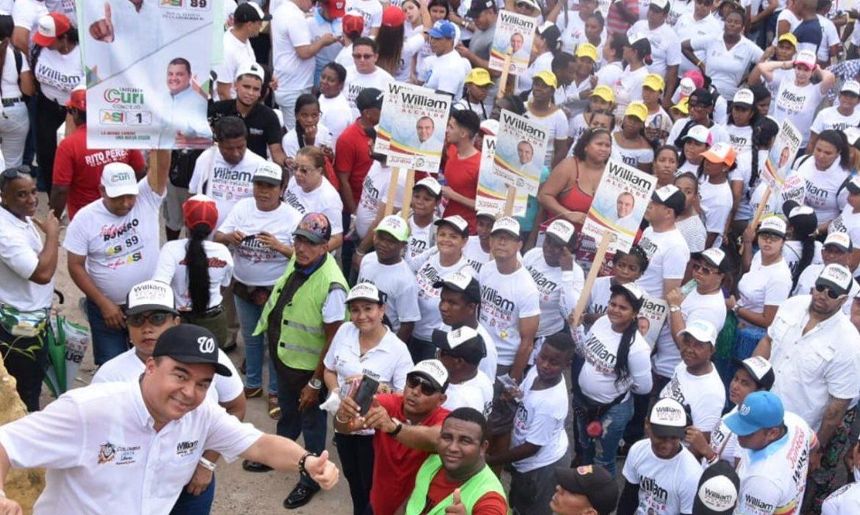 La Localidad Histórica y del Caribe Norte y William García Tirado caminaron juntos 'La Ruta de la Victoria'