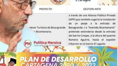 Photo of Plan de desarrollo de William Dau contempla un nuevo peaje para Cartagena