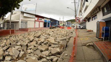 Photo of Avanzan las obras de Transcaribe en el barrio Pie de la Popa
