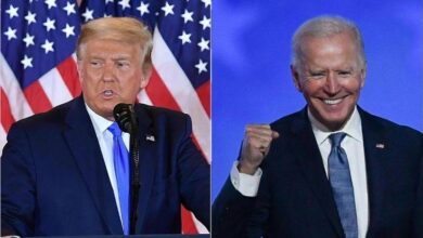 Photo of Joe Biden Sube, Donald Trump Baja